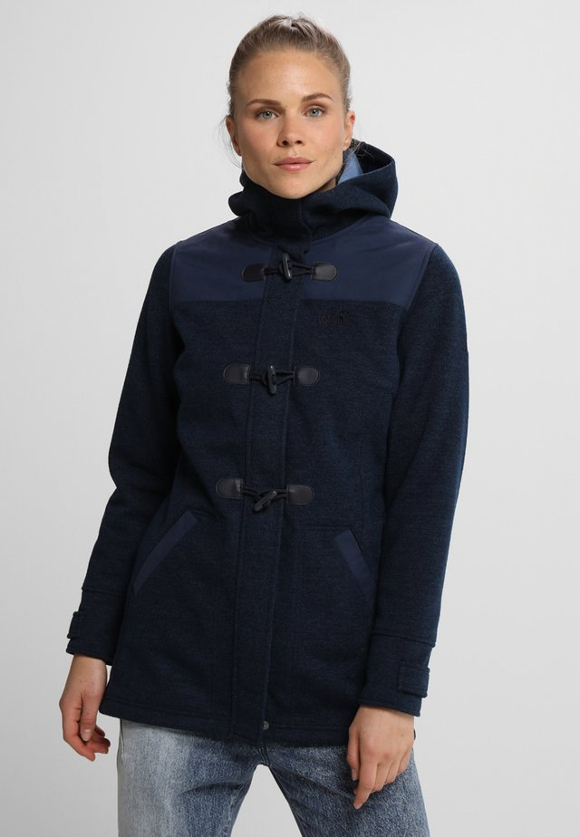 EDMONTON COAT WOMEN - Abrigo - midnight blue