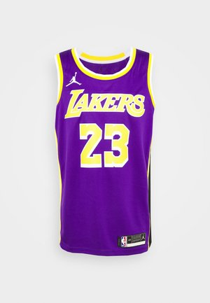 NBA LA LAKERS LEBRON JAMES SWINGMAN - Fanartikel - field purple