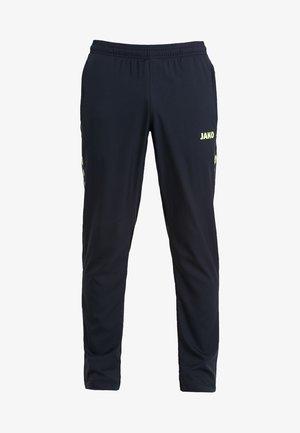 STRIKER - Spodnie treningowe - schwarz/neongelb