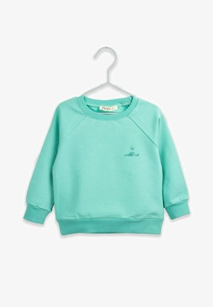 Sweatshirt - mint green