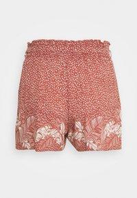 women'secret - PALM BELT SHORT - Pyjama bottoms - red - 6