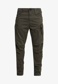 G-Star - ROXIC TAPERED FIT CARGO - Pantalones chinos - asfalt - 4