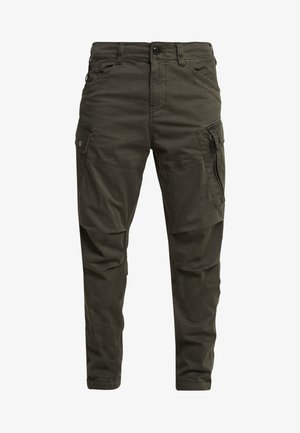 ROXIC TAPERED FIT CARGO - Chino - asfalt