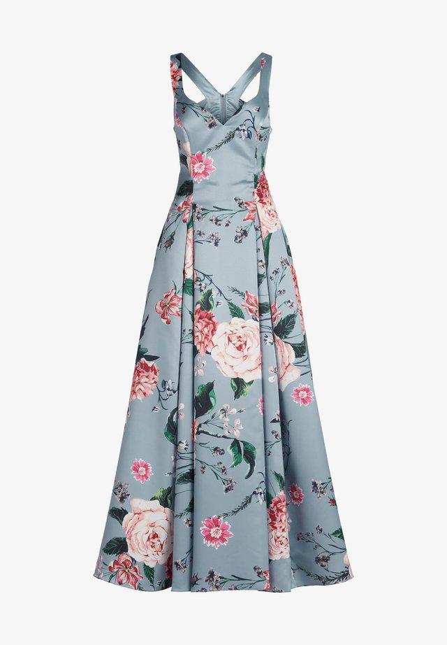 Maxi dress - blue/rosé