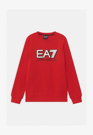 EA7 - Sweatshirt - racing red