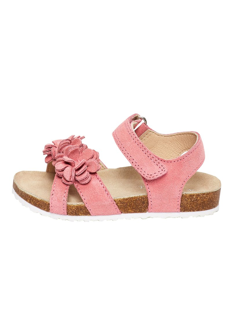 Next - PINK CORKBED FLOWER SANDALS (YOUNGER) - Outdoorsandalen - pink