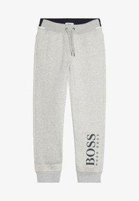 BOSS Kidswear - Joggebukse - mottled light grey - 3