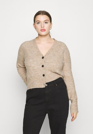 REBELO CARIDGAN - Cardigan - oatmeal