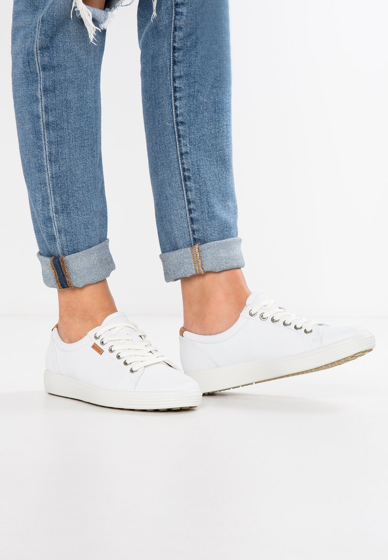 ECCO - SOFT - Sneakers laag - white