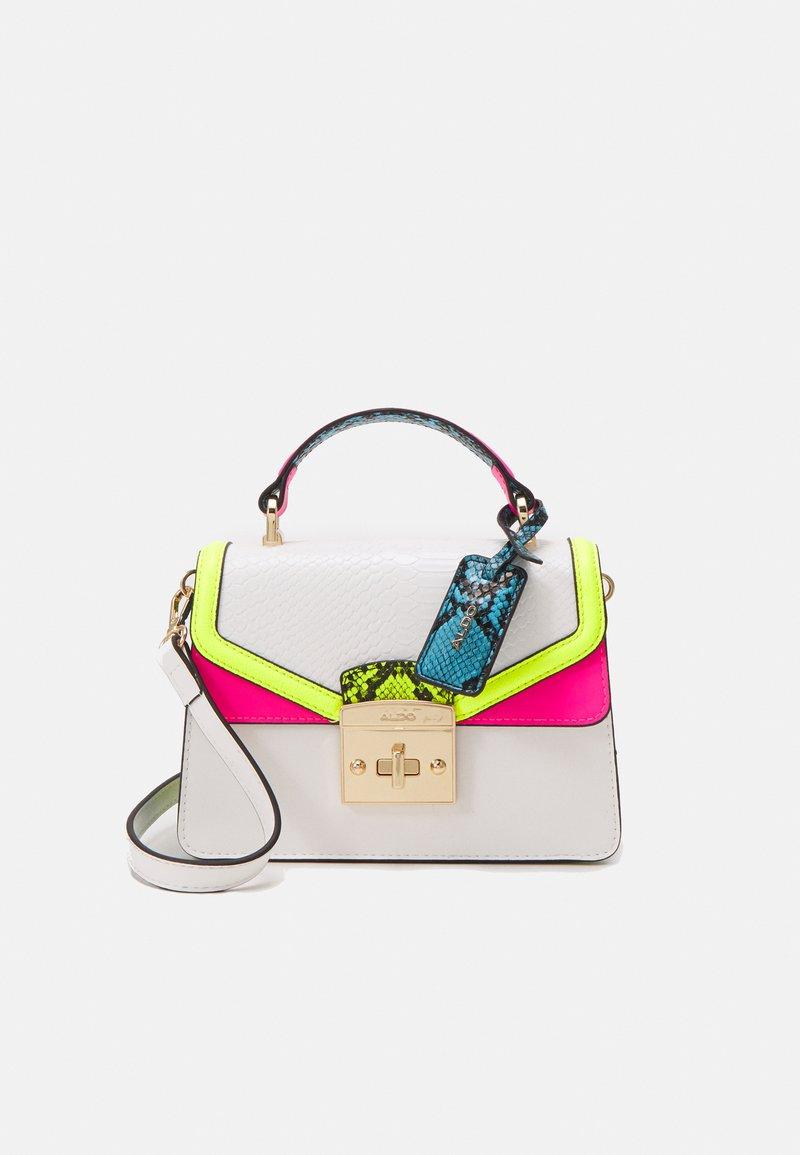 ALDO - ETIWEN - Käsilaukku - bright white combo