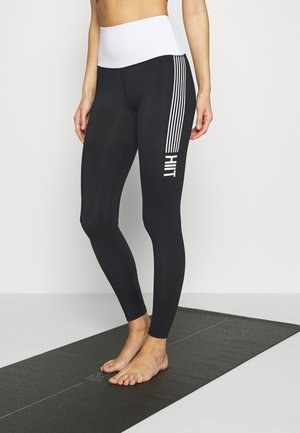 CONTRAST LEGGING - Leggings - black
