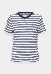 CLASSICS STRIPE TEE - T-shirts print - white/navy
