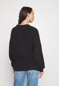 Anna Field - BAT SHAPE OVERSIZED - Neule - black - 4