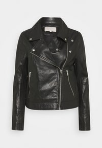 Part Two - ELAIA - Leather jacket - black - 0