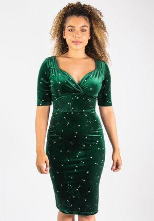 STAR - Shift dress - green