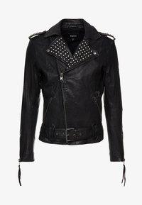 Tigha - ROYCE - Veste en cuir - black - 5