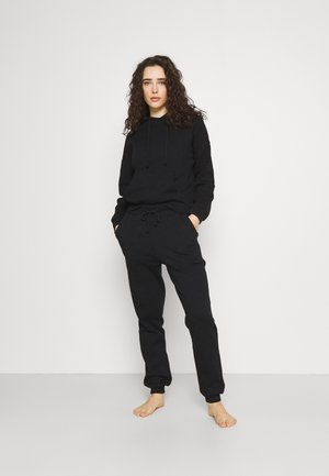 Hooded lounge set - Pyjama set - black