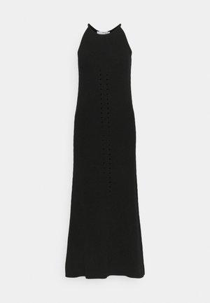 SLFMAXA DRESS TALL - Gebreide jurk - black