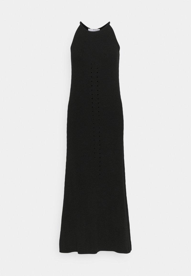 Selected Femme Tall - SLFMAXA DRESS TALL - Jumper dress - black