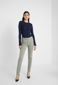 Strenesse - PANTS - Trousers - soft green - 1
