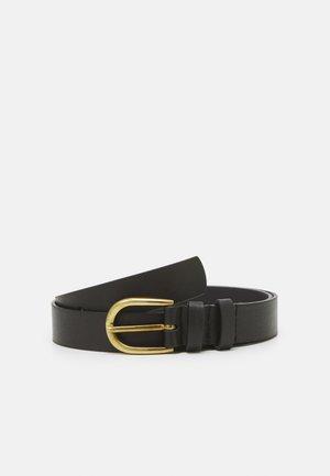 PCHAVEN JEANS BELT - Belt - black/gold-coloured