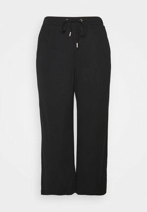 CLEAN CULOTTE - Trousers - black