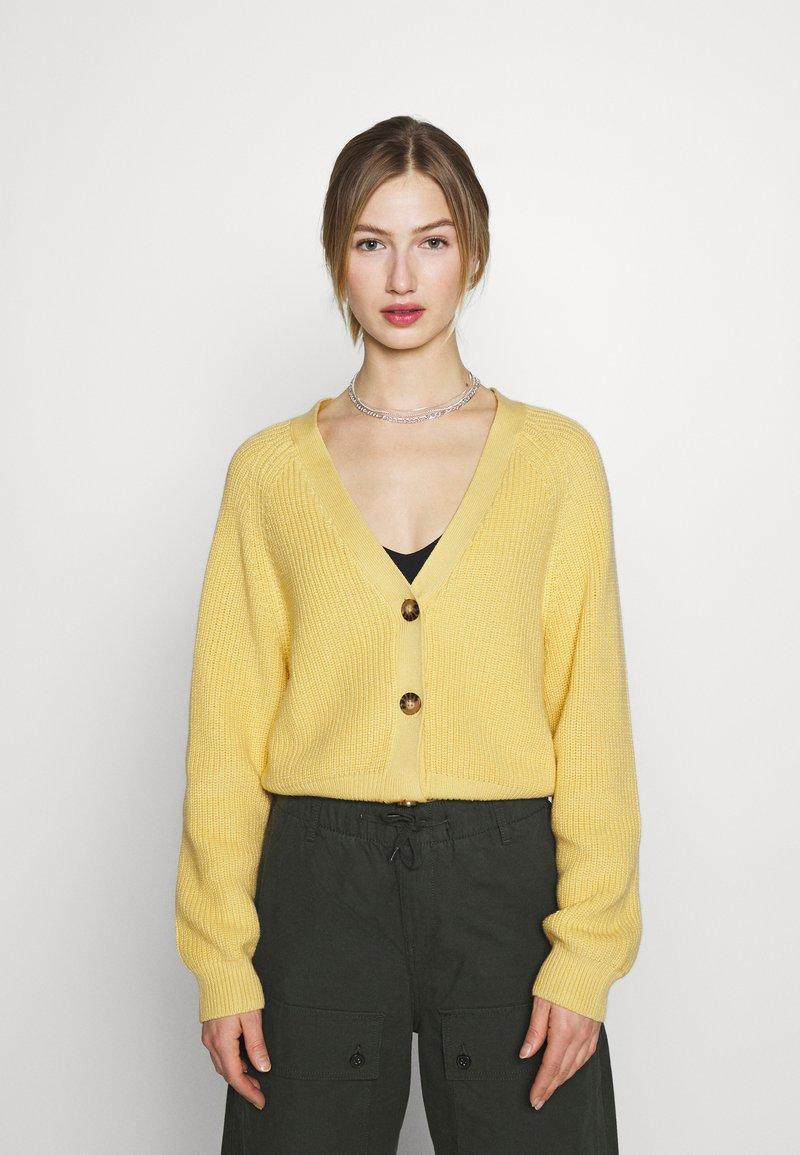Monki - Vest - yellow