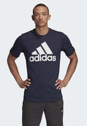 MUST HAVES BADGE OF SPORT T-SHIRT - T-shirt imprimé - blue