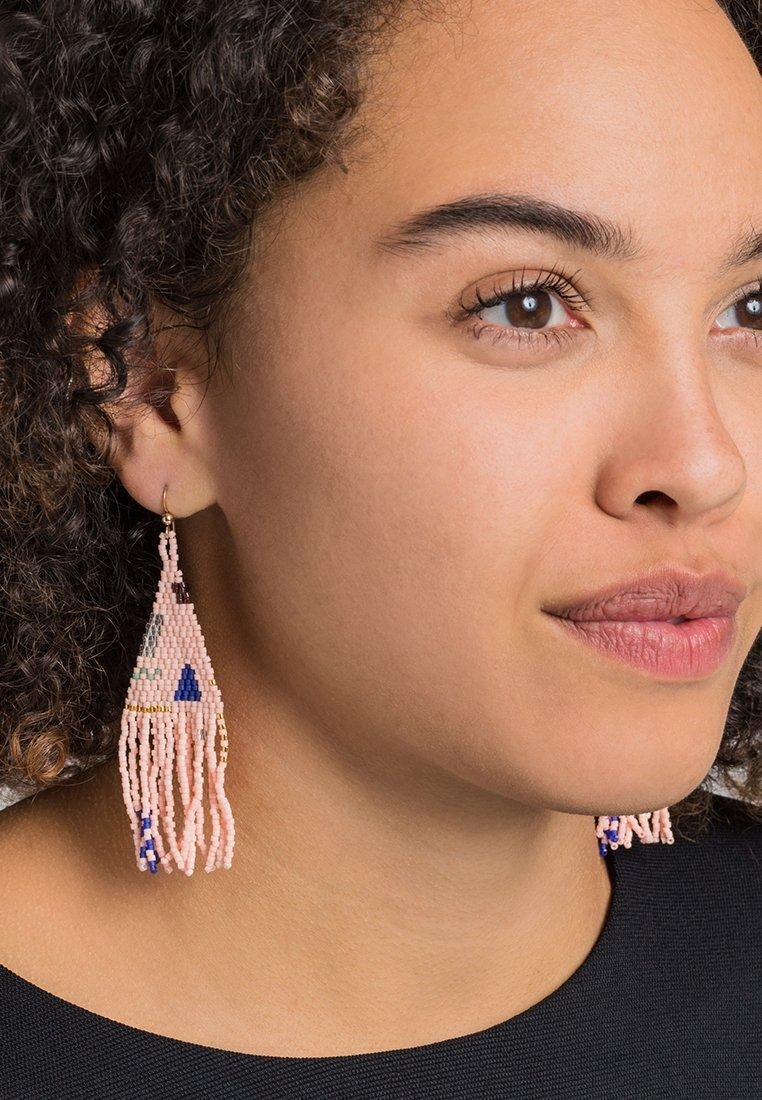 FOLKDAYS - Earrings - rosa