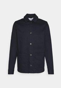Les Deux - PRESTON DOBBY HYBRID - Summer jacket - dark navy - 0