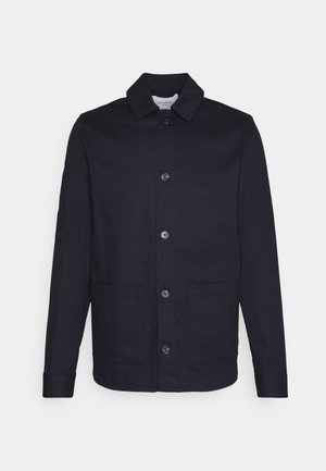 PRESTON DOBBY HYBRID - Summer jacket - dark navy