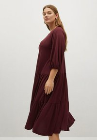 Violeta by Mango - Day dress - granatrot - 3