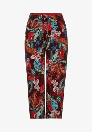 LOOSE FIT - Trousers - rot