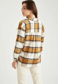 DeFacto - Button-down blouse - brown - 2