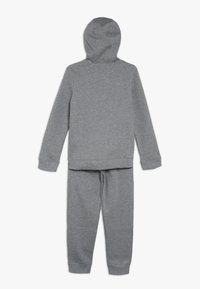 Nike Sportswear - CORE SET - Tracksuit - carbon heather/dark grey/white - 1