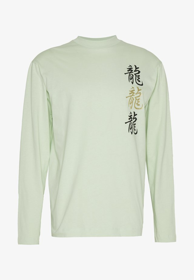 UNISEX  LOOSE  - Long sleeved top - mint