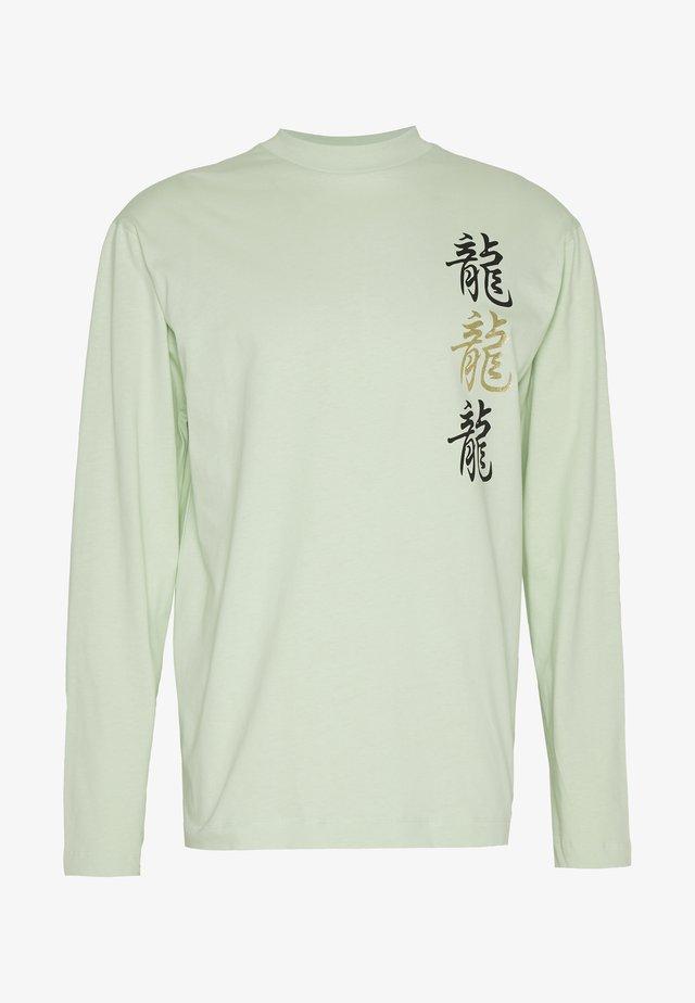 UNISEX  LOOSE  - Maglietta a manica lunga - mint