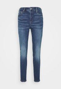 American Eagle - CURVY HI RISE - Slim fit jeans - indigo abyss - 4