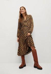 Mango - SABI - A-line skirt - karamell - 3