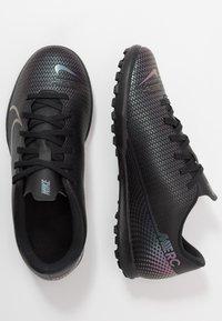 Nike Performance - MERCURIAL VAPOR 13 CLUB TF - Kopačky na umělý trávník - black - 0