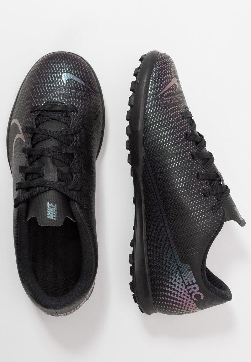 Nike Performance - MERCURIAL VAPOR 13 CLUB TF - Kopačky na umělý trávník - black
