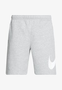 CLUB - Shorts - grey heather/white