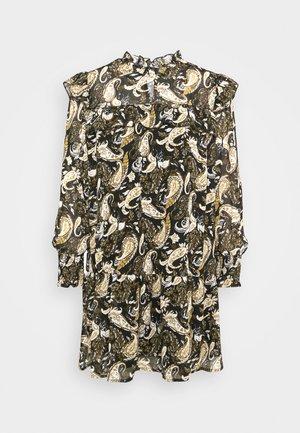 OBJANESSA ARYA SHORT DRESS - Kjole - black