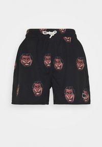 Grimey - FRENZY  SWIMMING SHORT UNISEX - Shorts - black - 0