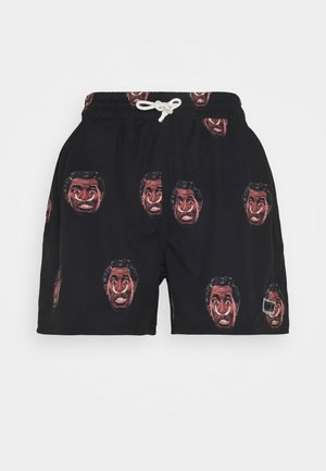 FRENZY  SWIMMING SHORT UNISEX - Shorts - black