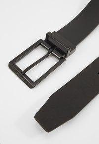 Calvin Klein - SKIVED BUCKLE MONO - Belt - black - 2