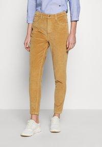 Fransa - FRHACORDUROY PANTS - Trousers - sesame - 0