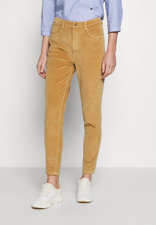FRHACORDUROY PANTS - Trousers - sesame