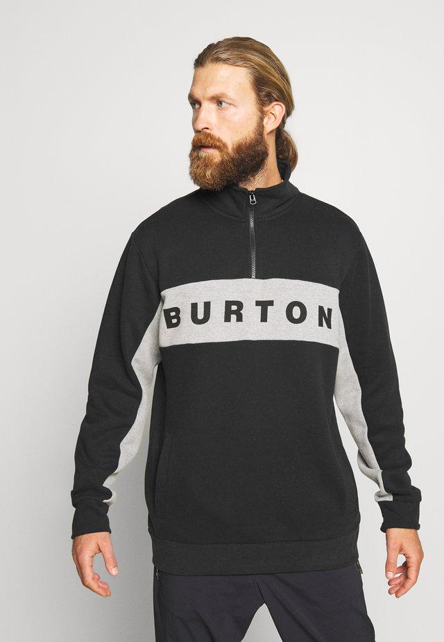 MENS LOWBALL QUARTER ZIP - Sweatshirt - true black