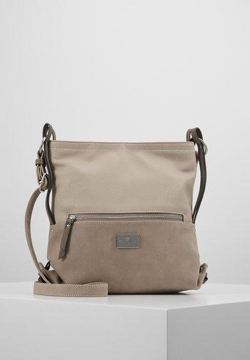 ELIN - Across body bag - beige